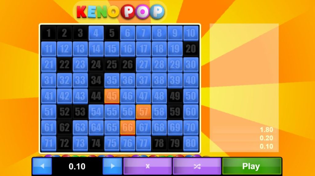 keno tip: get gamiliazed with the game in demo mode