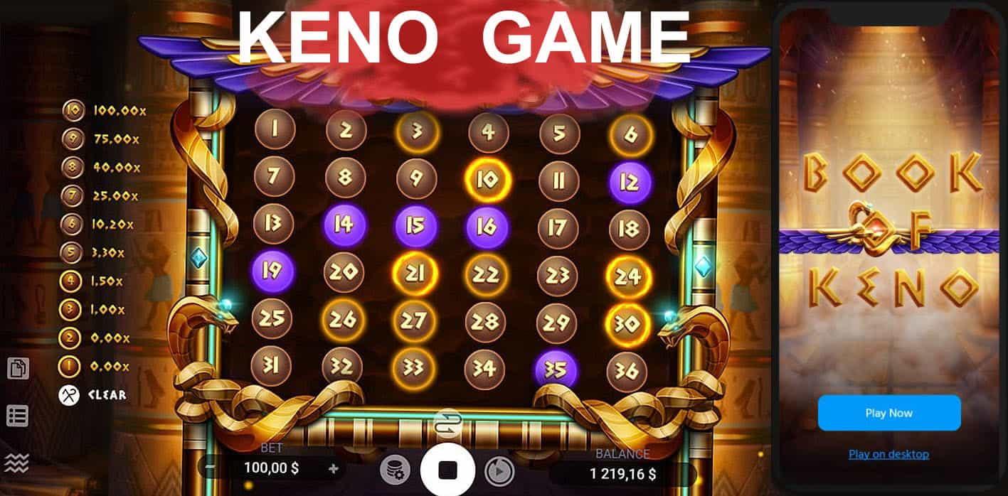 Learn Keno Strategy in Demo Mode