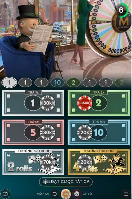 monopoly live game on mobile