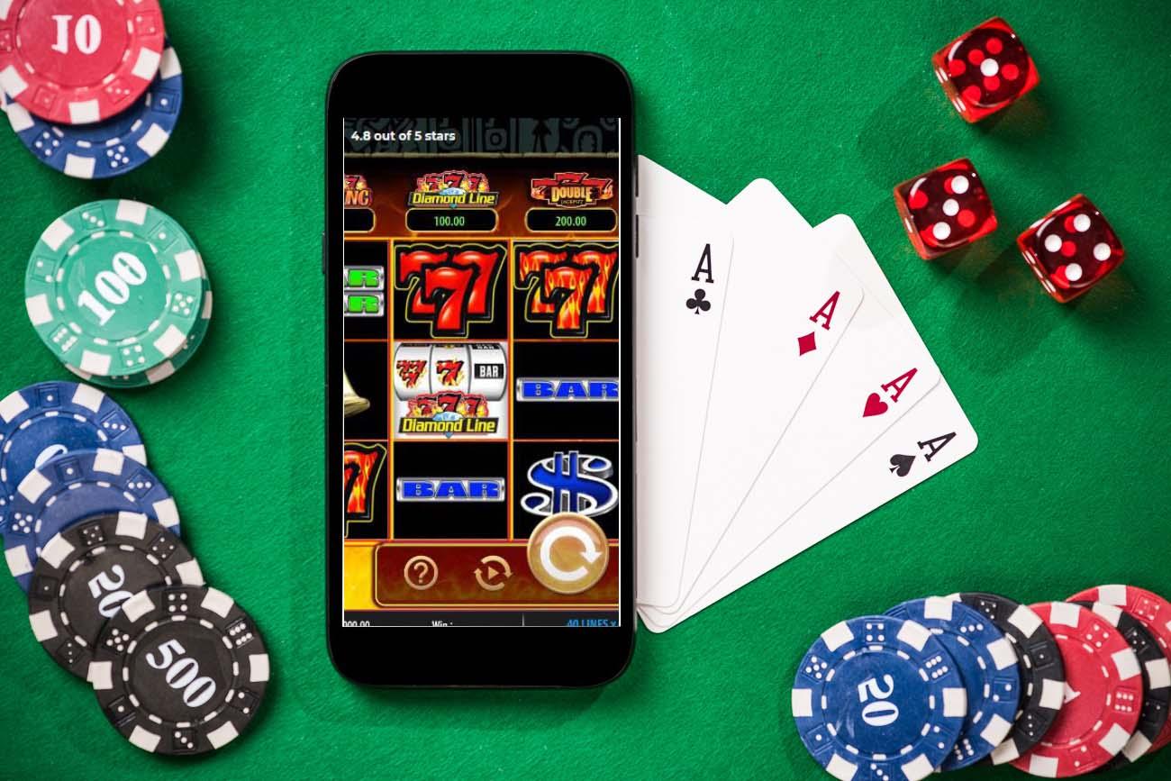 Smartphone with new casino