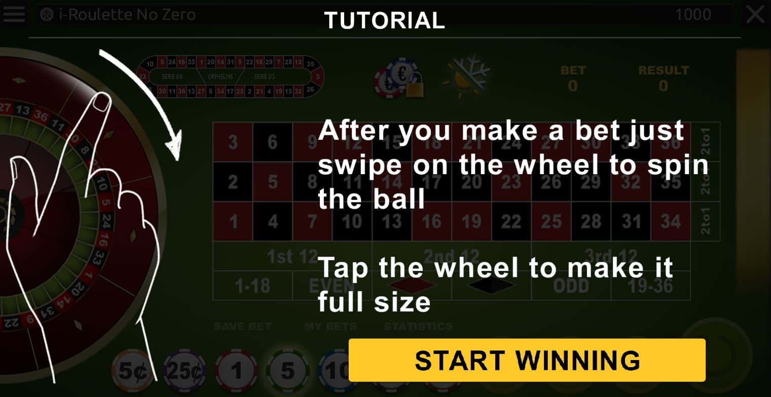 roulette tips infographics
