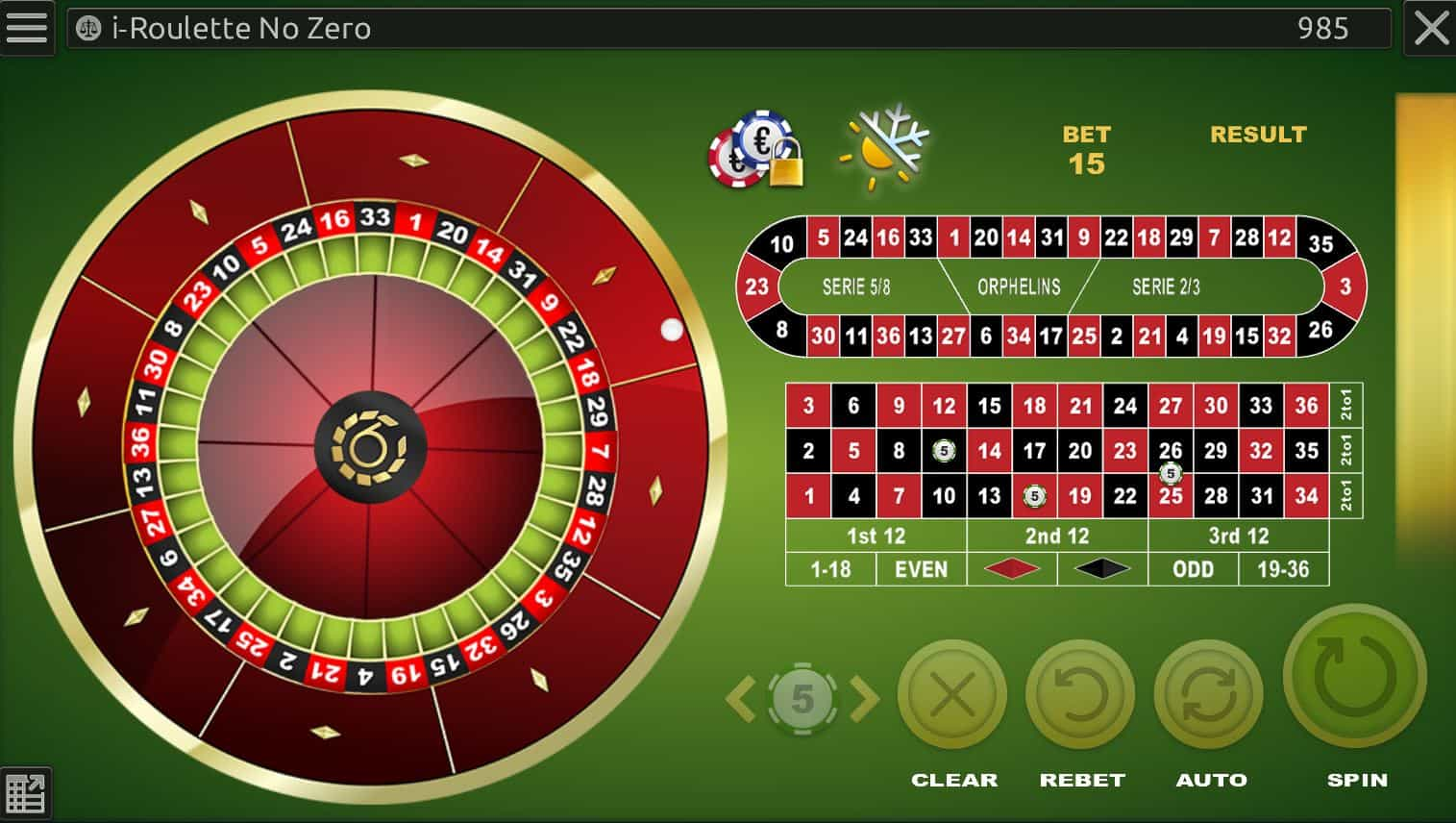 roulette demo game online
