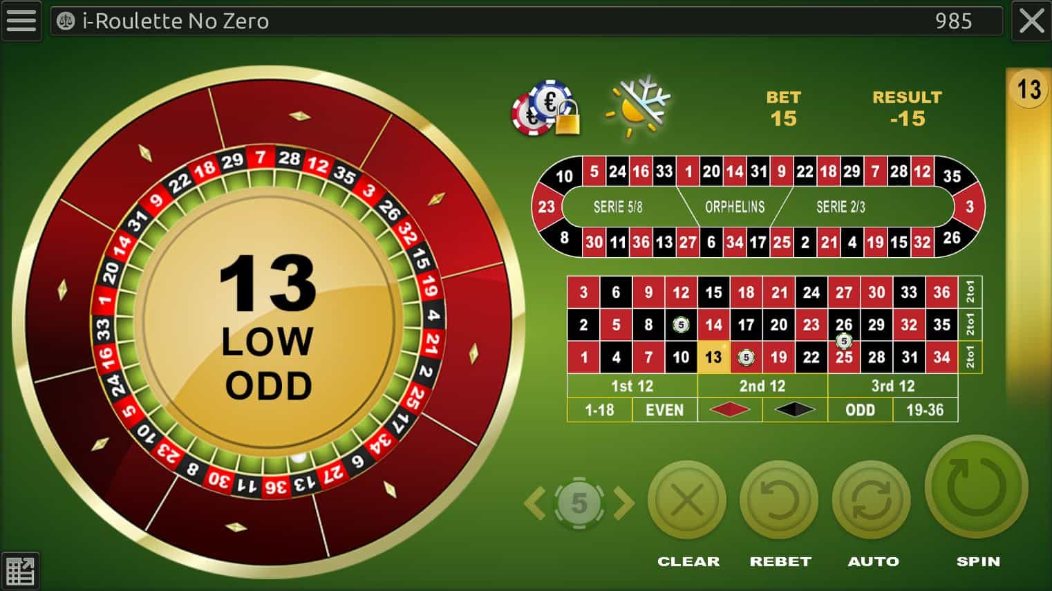 Roulette tip: start by free demo mode