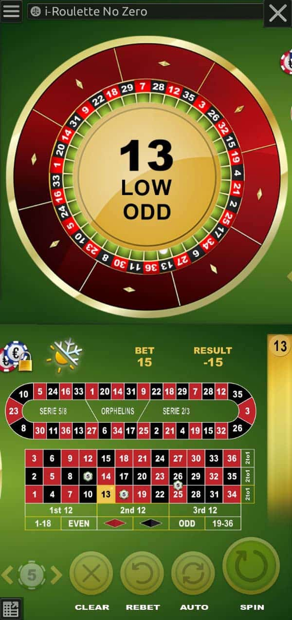 roulette mobile game online