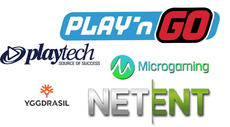 online gaming software providers logos
